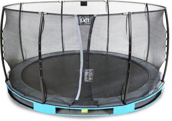 EXIT Elegant Premium Inground Trampoline à 450 cm met Veiligheidsnet