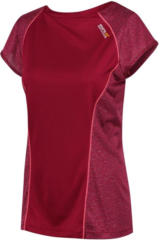 Regatta-Ws Hyper ReflctII-Outdoorshirt-Vrouwen-MAAT XXXL-Bordeaux