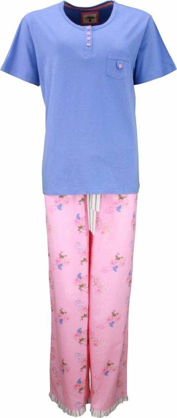 Tenderness Dames Pyjama Blauw Maten: XL