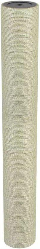 vidaXL Kattenkrabpaal 8x60 cm 8 mm beige
