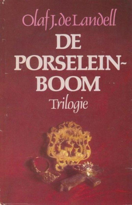 Boek cover Porseleinboom trilogie van Landell (Hardcover)