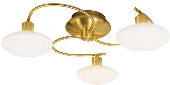 Trio Leuchten Saturno 3 - Plafondlamp - 3 lichts - Ø 500 mm - goud/messing