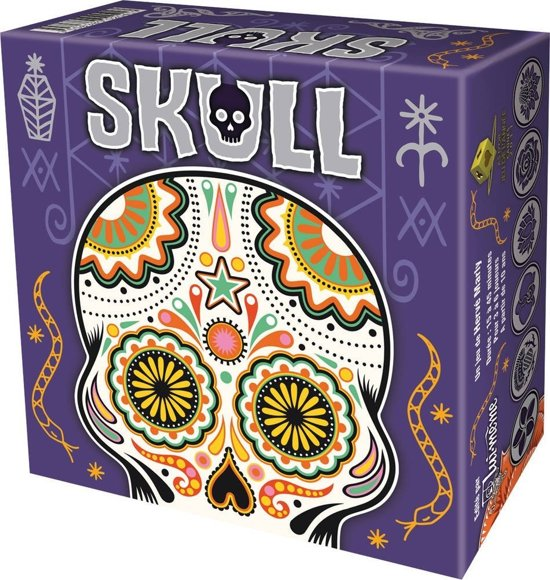 Asmodee Skull Silver
