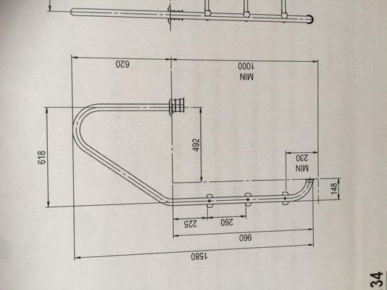 Zwembadtrap ladder plus model 3 treden RVS 316