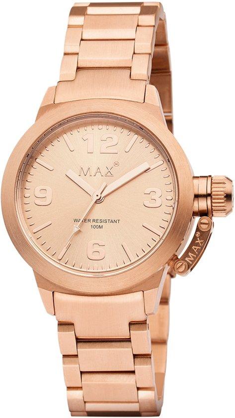 Max 5 -MAX581 - Horloge - Staal - Rosekleurig 38mm