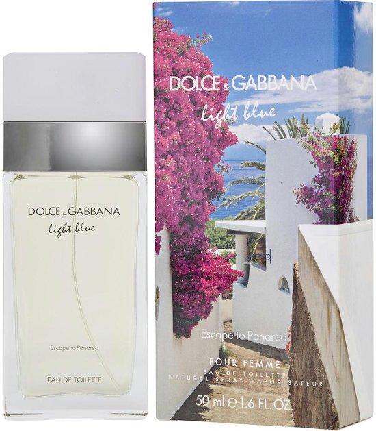 ac55f02483b73 Dolce   Gabbana Light Blue Escape To Panarea Pour Femme - 50 ml - Eau de  toilette