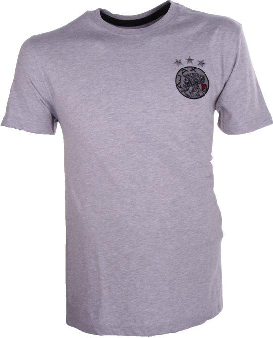 Ajax t-shirt Heren - grijs - maat XXL