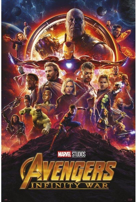 Avengers: Infinity War-poster-Marvel-61x91.5cm.