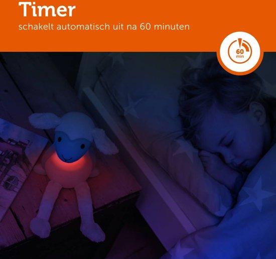 Zazu - Fin 2.0 - Blauw - Nachtlampje - Schaaplampje -  Leeslampje geschikt voor in bed