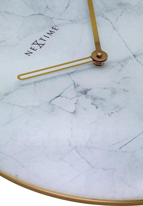 """""""NeXtime Marble Wandklok Ã40 cm """""""
