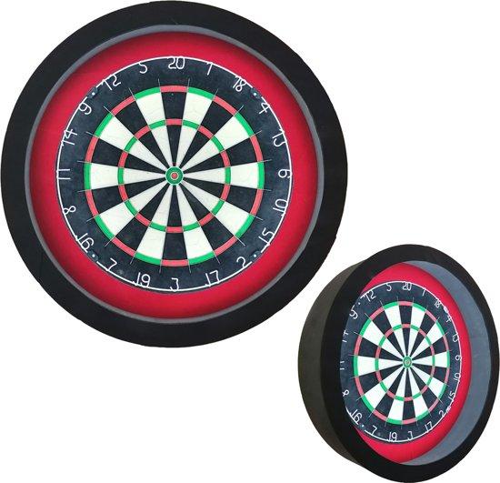 Dragon - Sorpresa PRO - zwart-rood - dartbord verlichting - dartbord berscherming ring