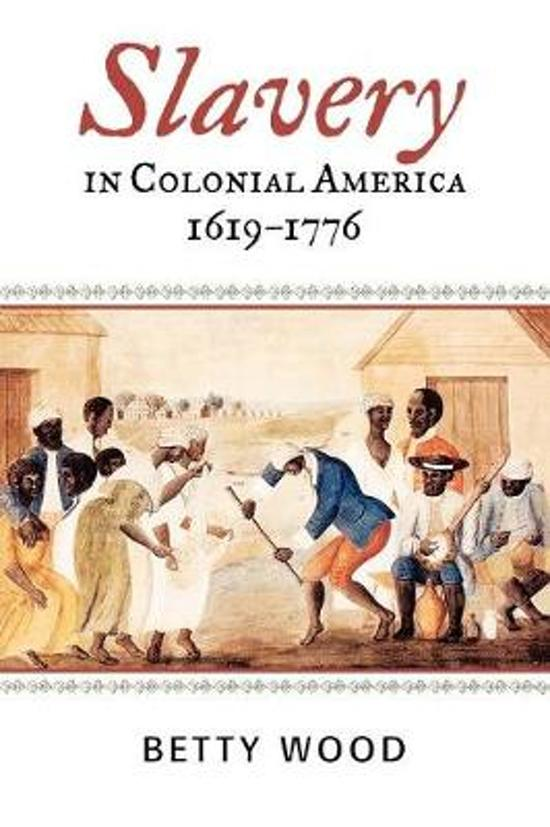 thesis on slavery in colonial america Slavery in colonial north america: the struggle of whites slavery is defined as the state of a person who is a chattel of another1 when must people hear this term they think about african americans struggle in early american history.