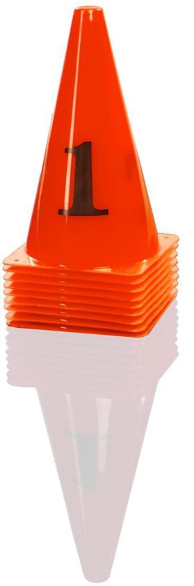 Gymstick Pionnen - 10 Stuks - Oranje