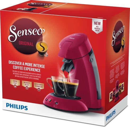 Philips Senseo Original HD6554/90 Donkerrood