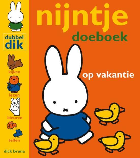 Kleurplaten Nijntje Kunstenaar.Bol Com Nijntje Magazine Nijntje Doeboek Op Vakantie Dick Bruna