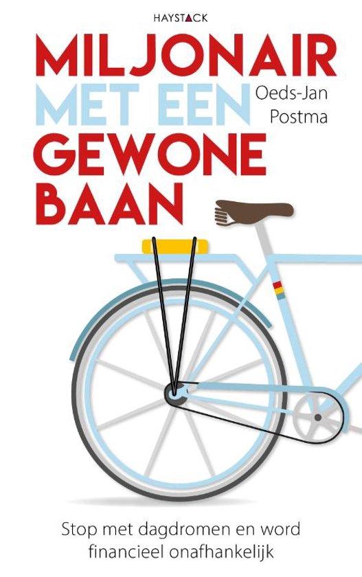 Boek cover Miljonair met een gewone baan van Oeds-Jan Postma (Paperback)
