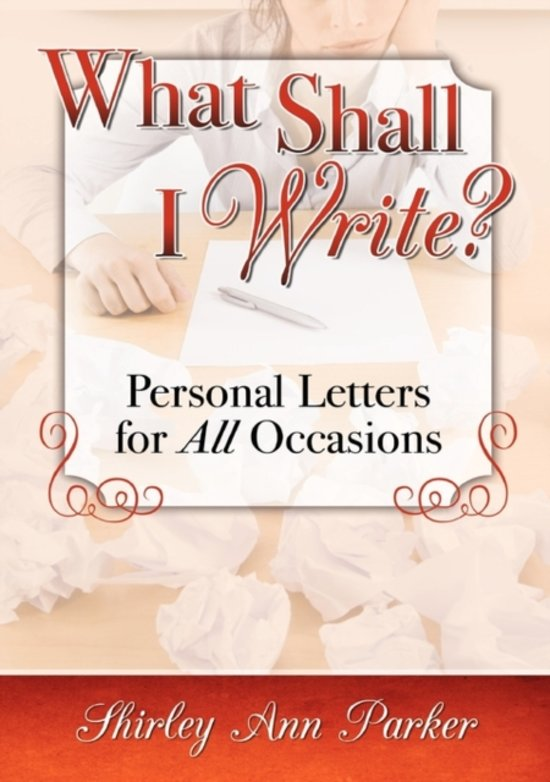 Bol what shall i write personal letters for all occasions what shall i write personal letters for all occasions expocarfo Image collections
