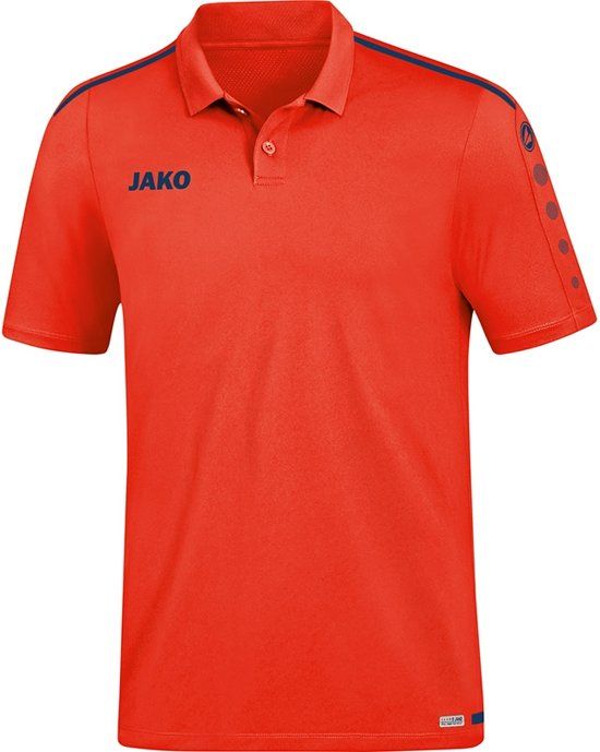 Jako Striker 2.0 Polo - Voetbalshirts  - rood - XS