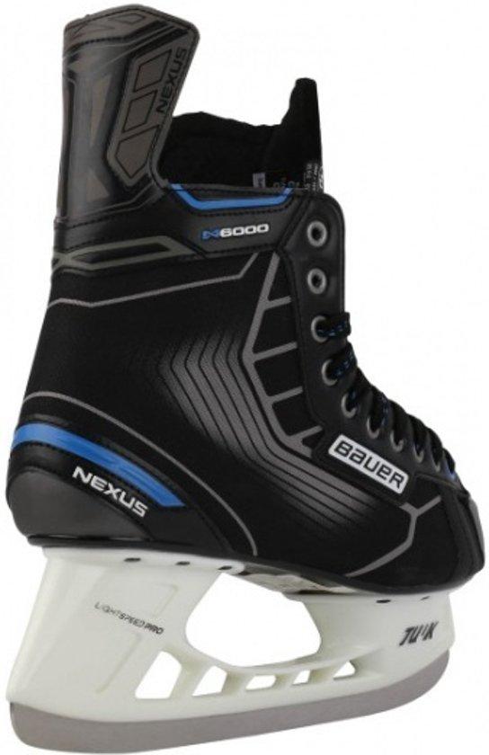 Bauer Ijshockeyschaatsen Nexus N6000 Unisex Zwart Maat 40,5