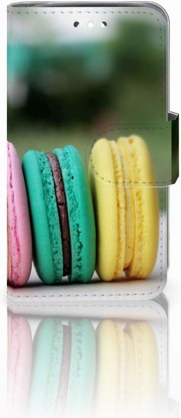 Huawei Y360 Uniek Boekhoesje Macarons Met Opbergvakjes in Lubbinge