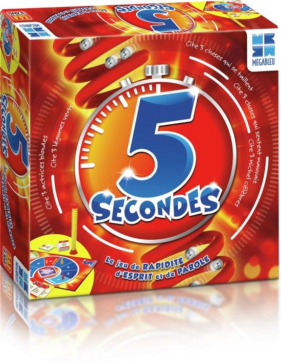 MEGABLEU 5 seconden (Franstalig)