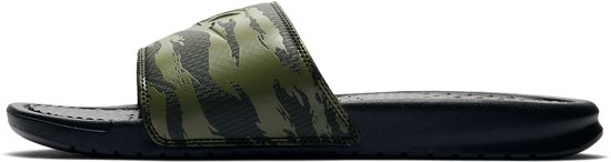 Nike 42 Camouflage Benassi 5 zwart Mannen Maat Jdislippers Groen OrFOpUwqzx