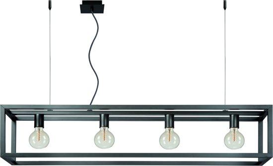 Lucide ORIS - Hanglamp - E27 - Grijs ijzer