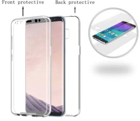 Avant De Protection D'écran Blanc + Arrière Pour Samsung Galaxy S8 KhiUd
