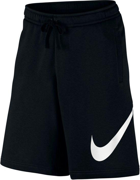 wit Fleece Short Maat Mannen Sportbroek Zwart L Performance Nike 8Zwzqq