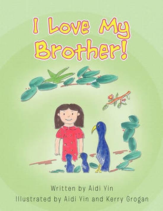 Bolcom I Love My Brother Aidi Yin 9781453590089 Boeken