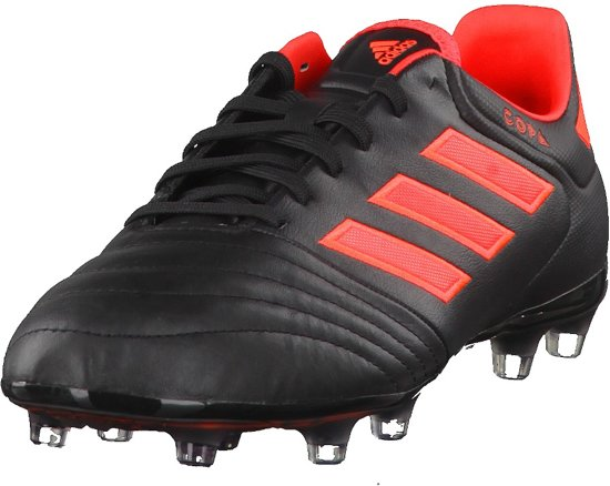adidas Copa 17.2 FG  Voetbalschoenen - Maat 42 - Mannen - zwart/rood