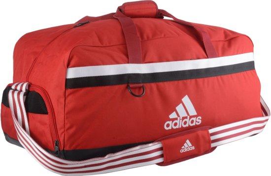 cb4ef06efaf bol.com | adidas Sporttas - rood/zwart/wit
