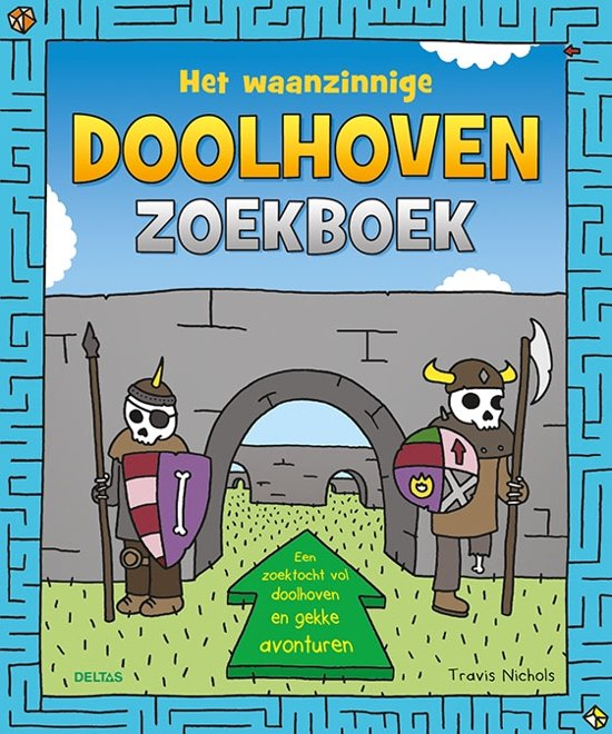 Deltas Het Waanzinnige Doolhoven Zoekboek 23 Cm
