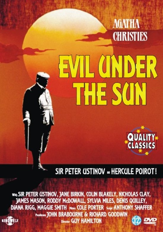 Cover van de film 'Evil Onder The Sun'