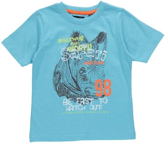 Blue Seven Jongens T-shirt - Lichtblauw - Maat 122