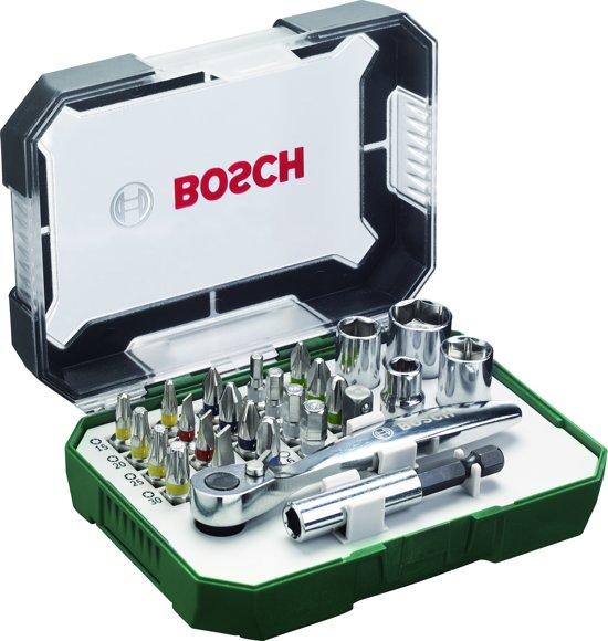 Super bol.com | Bosch X-Line bitset- en ratelset 26-delig RZ83