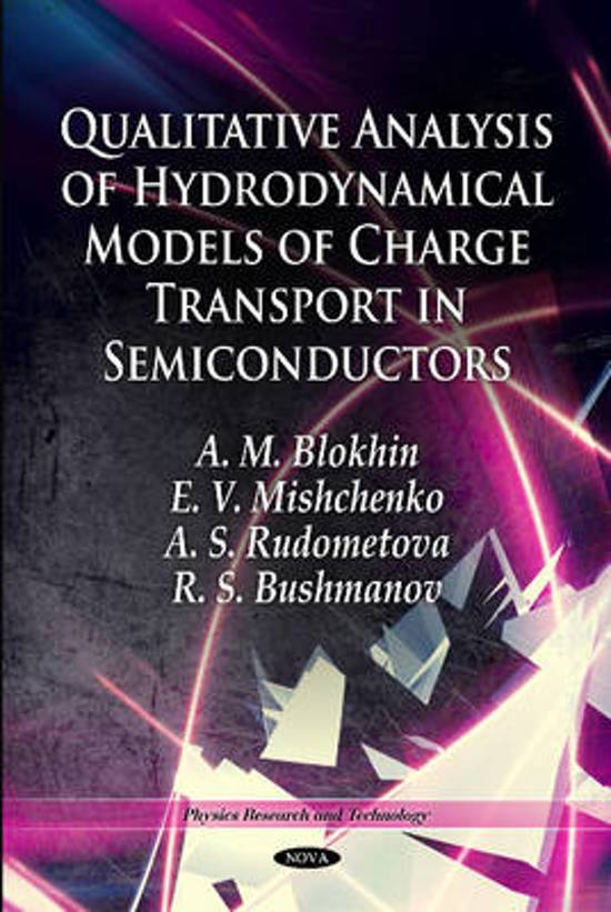 Qualitative Analysis of Hydrodynamical Models of Charge Transport in Semiconductors
