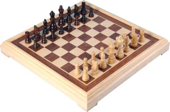 Afbeelding van Longfield Games Schaakspel Hout speelgoed