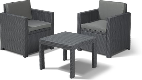 victoria wicker balkon set. Black Bedroom Furniture Sets. Home Design Ideas