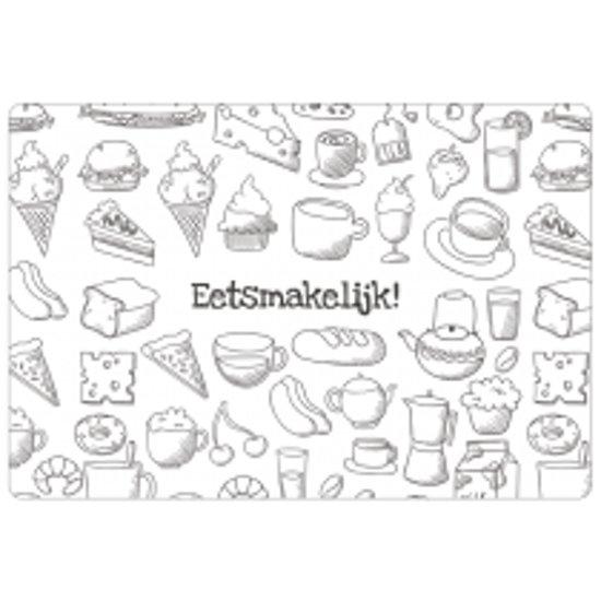 bol placemat eetsmakelijk tekeningen