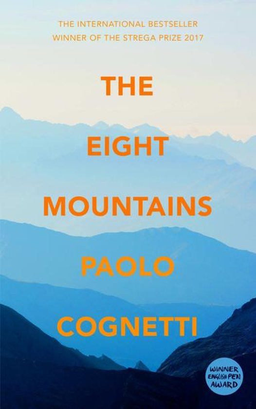 Boek cover The Eight Mountains van Paolo Cognetti (Onbekend)