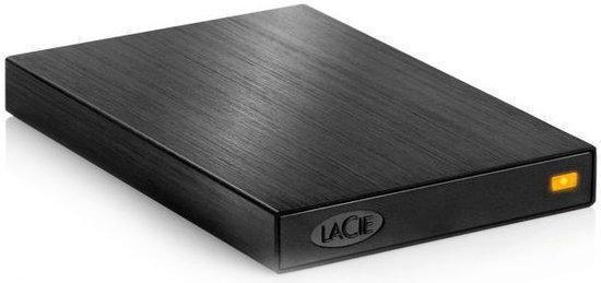Lacie Rikiki - 500GB / 2.5 inch / Zwart