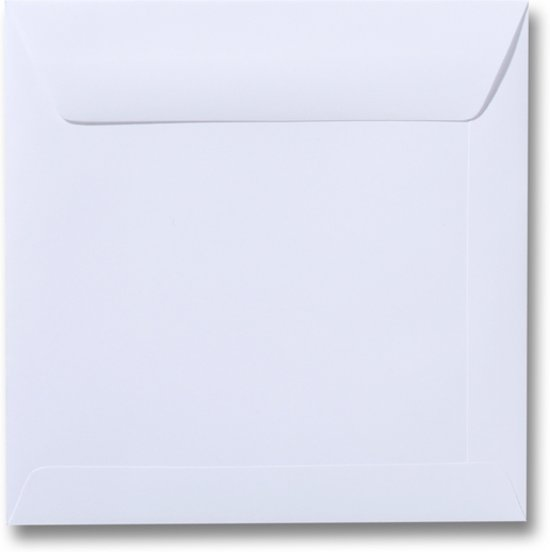 Envelop 22 x 22 Wit, 60 stuks