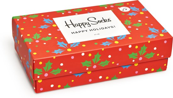 Happy Socks Playing Holiday Giftbox - Maat 41-46
