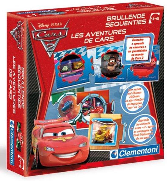 Clementoni Cars 2 Brullende Sequenties - Kaartspel