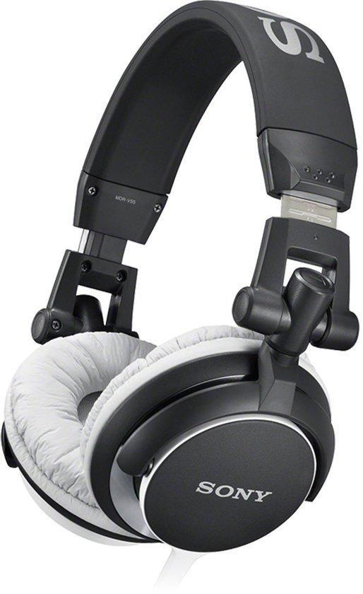 Sony MDR-V55 - On-ear koptelefoon - Zwart