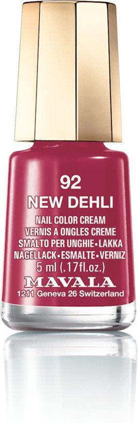 Mavala Mini Color Nagellak - 092 New Delhi - Bruin