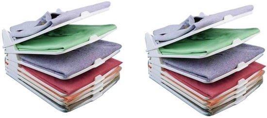 Mesa Living Shirt Organizer - Compact Kledingrek - 10 kledingstukken - 30x13x36cm