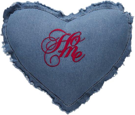 ATHM Home cushion Blue 52x36 (heart)