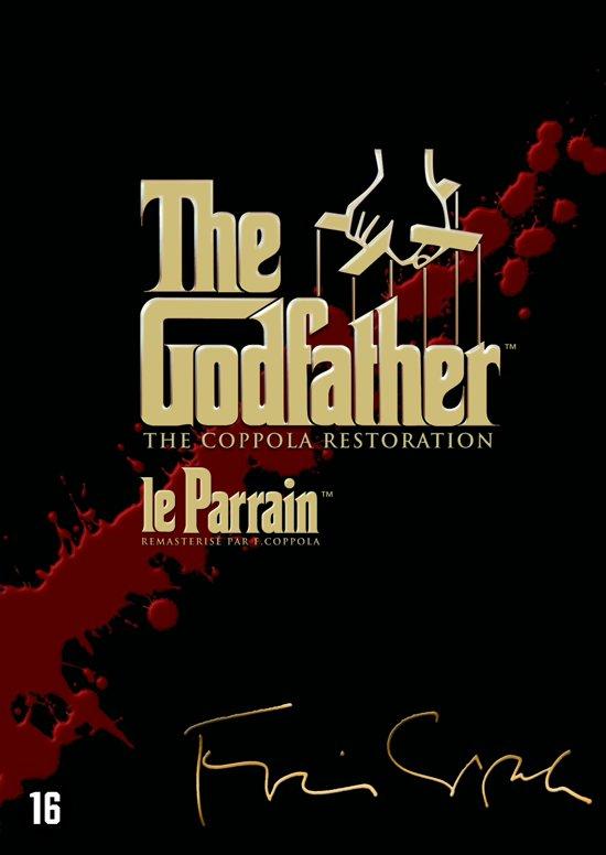 DVD cover van Godfather Trilogy (2015)